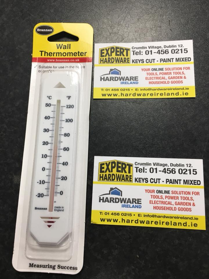 Popular Wall Thermometer Interior or Exterior Use