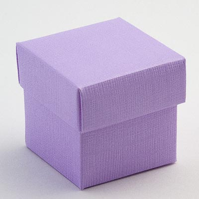 Wedding Favour Boxes x 10 Asstd Colours