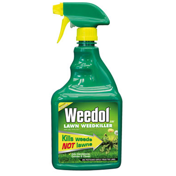 Scotts Weedol Lawn Weedkiller RTU Kills Weeds not Lawns 800ml