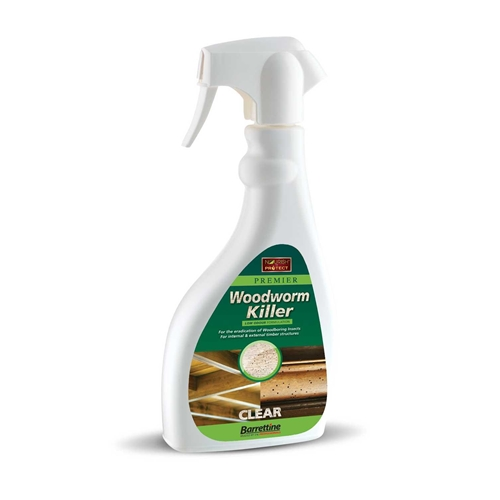 Barretine Woodworm Killer Spray 500ML