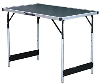 Yellowstone Folding Camping Table 100 x 60cm