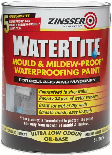 Zinsser Watertite White 5L or 10L