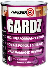 Zinsser Gardz Clear Interior Wall Sealer