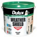 Dulux 10L Weathershield Brilliant White