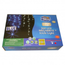 360 LED Icicle Lights Indoor or Outdoor Blue