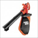 Black and Decker GW2500 Leaf Blower Vacuum 2600W Variable Speed