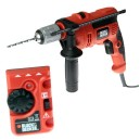 XMS16DRILL Black and Decker 710w Hammer Drill and Detector BDKR714CRES