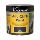 Blackfriar Anti Climb Paint Asssorted Sizes Black