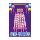 Expression Factory Birthday Candles 12 Pack