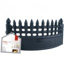 DeVille Fire Front Castle - Black: 16 or 18 inch