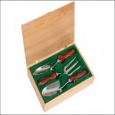 Faithfull Stainless Steel Boxed Set of Hand Garden Tools
