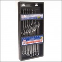 Faithfull Combination Spanner CV Set 18 Piece 6-24mm