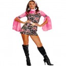 Go-Go Girl 60s Style Fancy Dress Costume