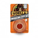GORILLA HEAVY DUTY MOUNTING TAPE 25MM