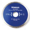 Replacement diamond cutter tile blade