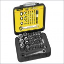 STA113906 Stanley Bit and Socket Set of 39 and Ratchet Metric Drive