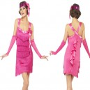 Smiffys Fever Flapper Hotty Fancy Dress Costume
