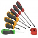 XMS16SCREW Faithfull Screwdriver Set and Magnetiser 7 Piece