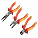 XMS16PLIERS Faithfull VDE Plier Set 3 Piece With Pouch