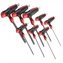 XMS15THEX Faithfull T Handle Ball Ended Hex Key Set of 8