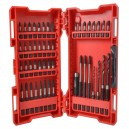 XMS16SHOCKW Milwaukee Impact Duty Shockwave Accessory Set 48 Piece
