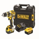 XMS17COMBI DEWALT XR Li-ion Combi Drill 18 Volt with 2 Batteries