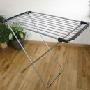 De Vielle Supreme Extendable Airer FREE Stainless Steel Hangers