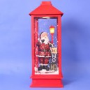 56CM SNOWING SANTA  LANTERN WITH LAMP YJW-140