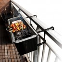 Gizzys Balcony Barbecue Attach to Railing BBQ