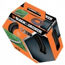 Black and Decker 20M Hose Reel set with Fittings 34104
