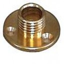 10mm Brass Back Plate for Bulbholders