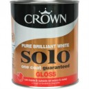 Crown Solo White Gloss - 750ml or 2-and-a-half L