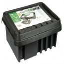 Dri-Box DRiBOX Large Weatherproof Exterior Connection Box Black