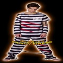 Prisoner Fancy Dress Costume