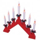 7 Light Red Flicker Candlebridge