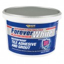 Forever White Tile Adhesive and Grout