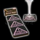 Hen Party Miss Behave Drink Mats Coasters for Girls