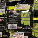 SCAWWHVWL Hi-Vis Waistcoat Assorted Colours and Sizes