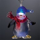 Set of 8 Penguin - Santa - Snowman Lights