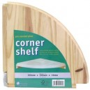 Pine Corner Shelf 12 Inch or 15 Inch