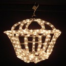 Rope Light Lantern Clear In or Outdoor