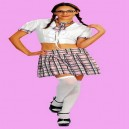 School Girl Fancy Dress Costume