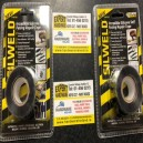Everbuild Silweld Silicone Repair Tape Black 3m