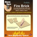 Stove Care Fire Brick Vermiculite Insulating Slab