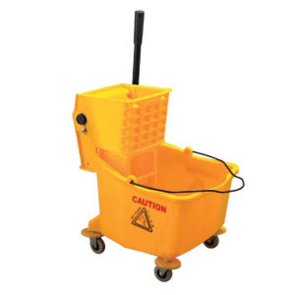 Proplus Cleaning 30l Industrial Mop Bucket Warning Sign