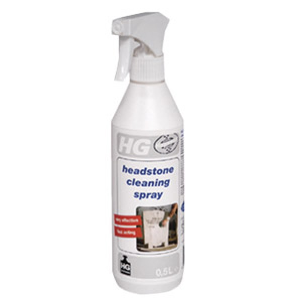 hg headstone cleaning spray 500ml. Black Bedroom Furniture Sets. Home Design Ideas