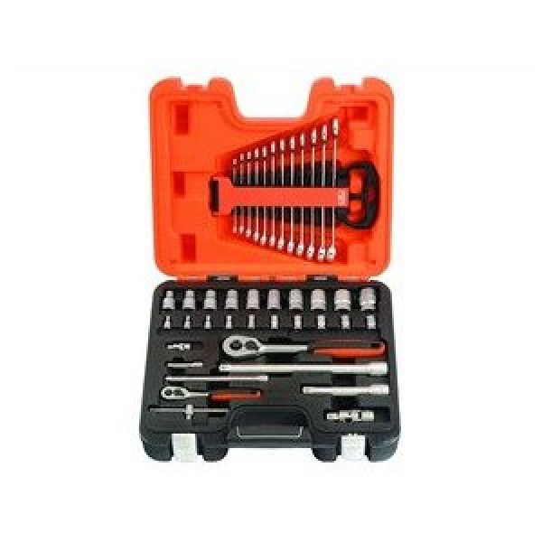 Bahco 41 Pc And Square Drive Socket And Spanner Set
