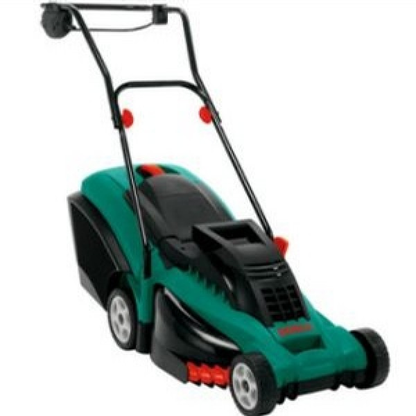 bosch rotak 40 rotary electric lawnmower. Black Bedroom Furniture Sets. Home Design Ideas
