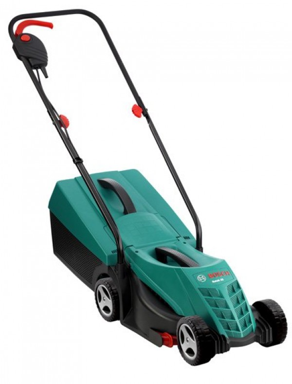 bosch rotak 32 rotary electric lawnmower. Black Bedroom Furniture Sets. Home Design Ideas