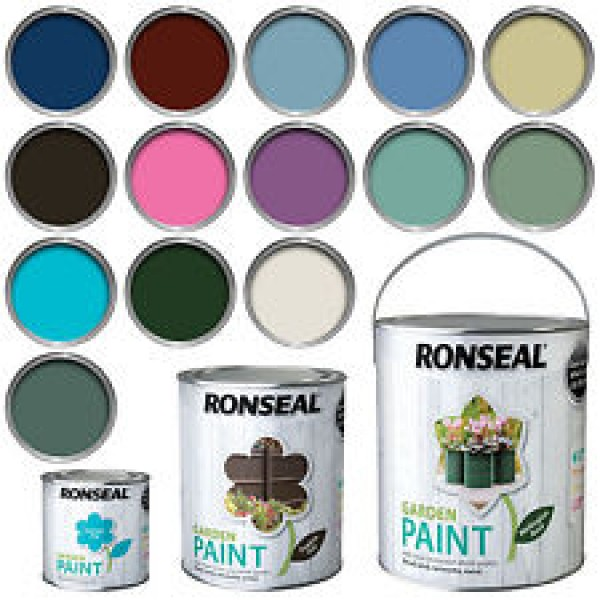 Ronseal Garden Paint Assorted Colours